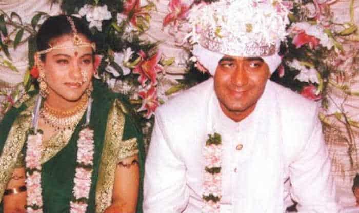 Kajol & ajay devgan marriage photo