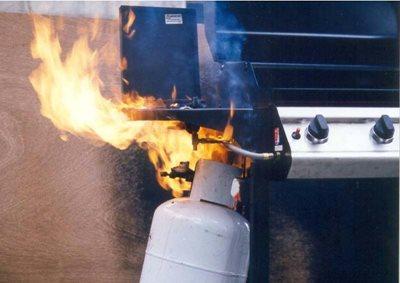 Lpg gas leak