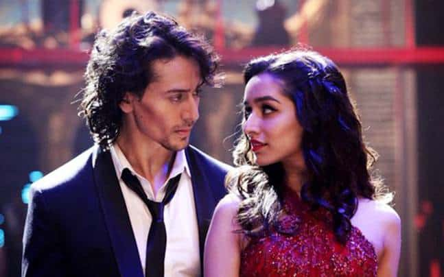 Tiger shroff with shraddha kapoor