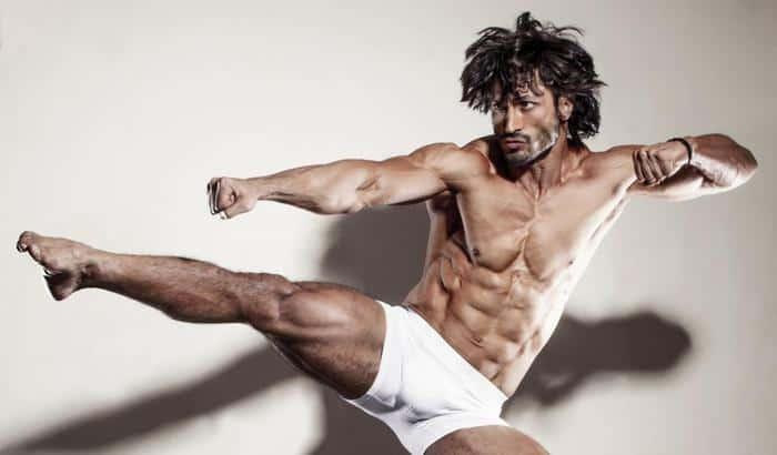 vidhut jamwal mascular body